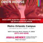 Ana G. Méndez Celebrates Open House in its Orlando Campus